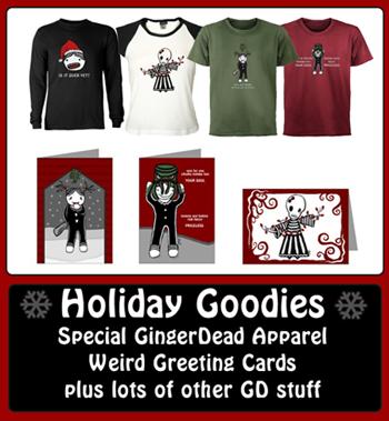 GingerDead merchandise