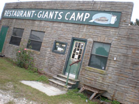 the Giant's Restaurant and Camp