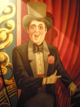 Circus Mural inside Showtown Bar, Gibsonton