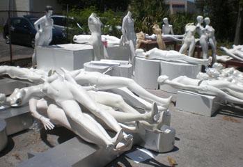 mannequins galore!
