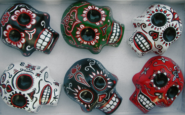 Day of the Dead / Dia de los Muertos Skulls