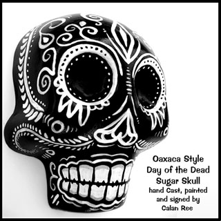 Day of the Dead / Dia de los Muertos Skull