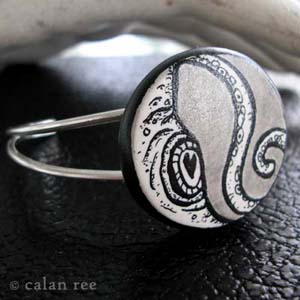illustrated jewelry by calan ree