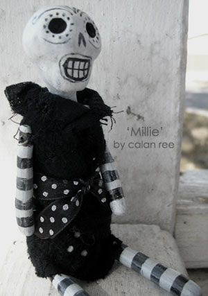 Millicent - Art Doll by Calan Ree