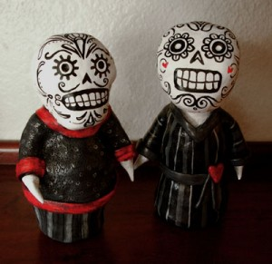 day of the dead duo by calan ree