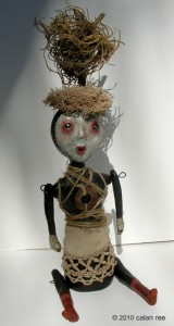 Anya Mixed Media Art Doll