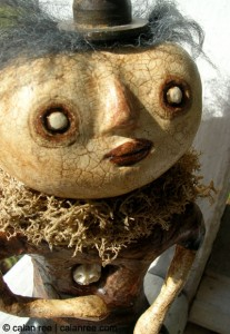 mister moon - art doll by calan ree